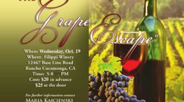 The Grape Escape | October 19, 2016