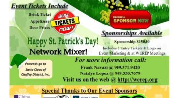 Annual WEREP St. Patrick's Day Party | 3-16-17
