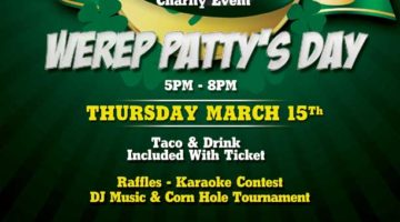 WEREP Patty's Day Mixer | March 15, 2018